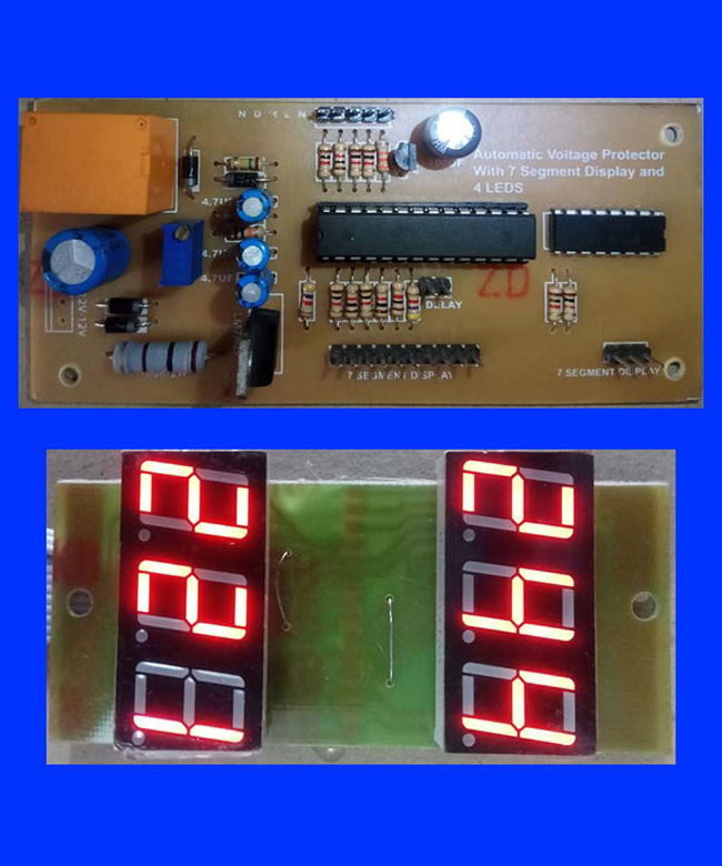 Automatic Voltage Protector Circuit